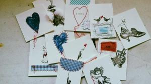 mini valentine cards