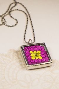 zentangle inspired jewelry