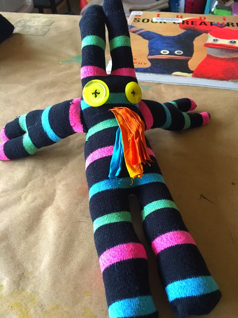 Sock-monster