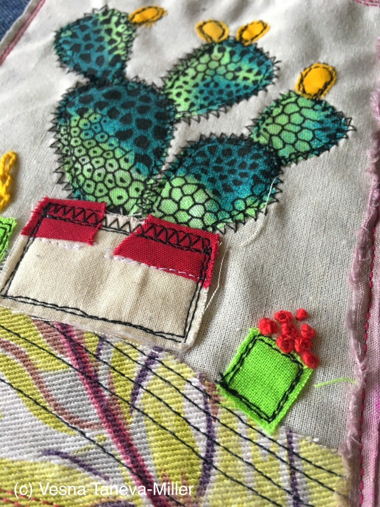 Desert inspired quilting