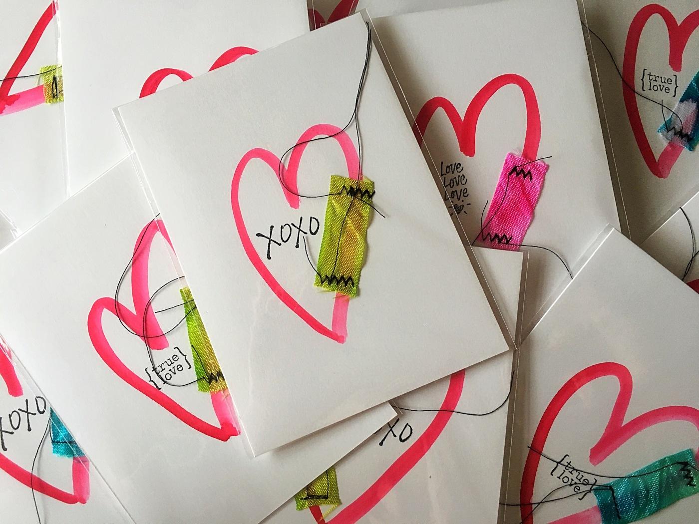 Valentine's postcard