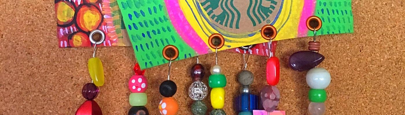 Repurposing coffee cup sleeves