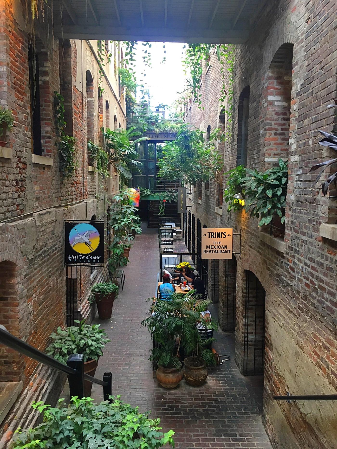 Omaha Old Market - Passageway