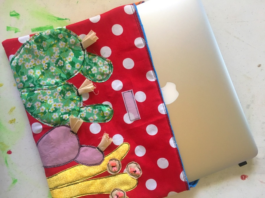 MacBook Air sleeve tutorial