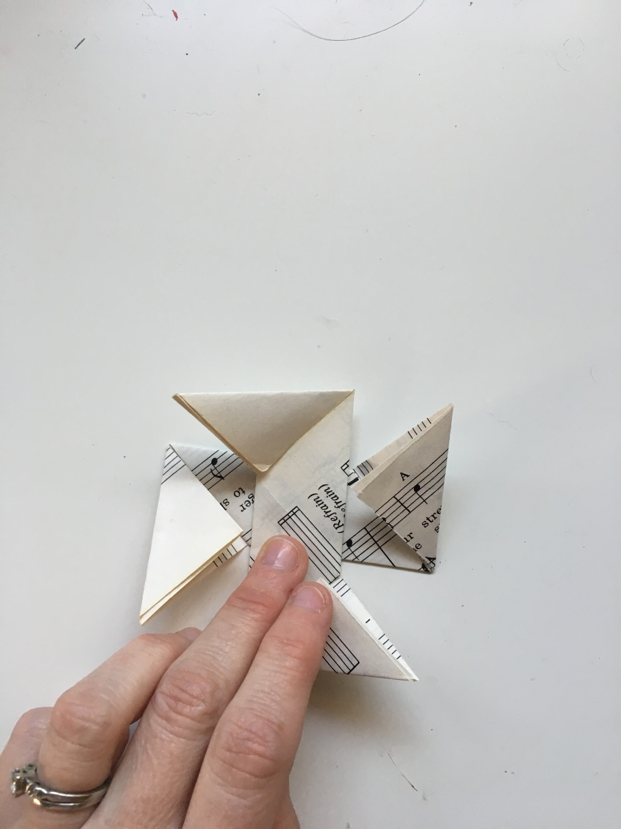 Origami Star Ornaments