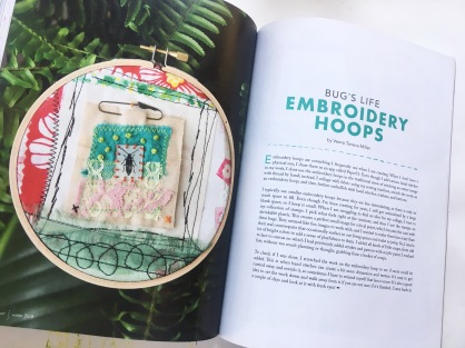 Bug's life embroidery hoops