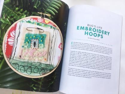 Bug's life embroidery hoops
