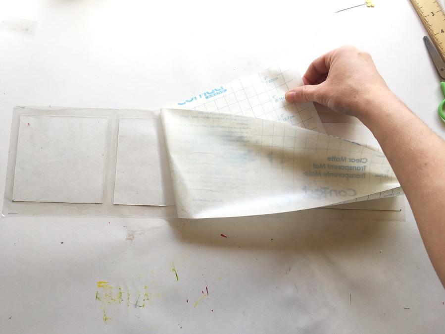 DIY paper coasters