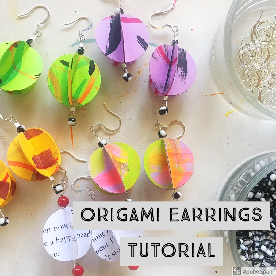 Origami Earrings