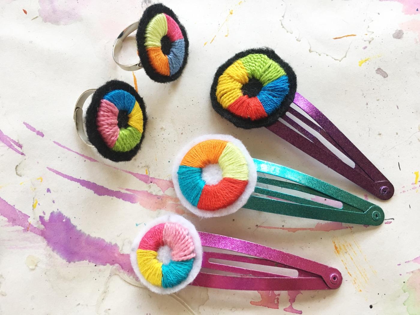 color wheel crafts
