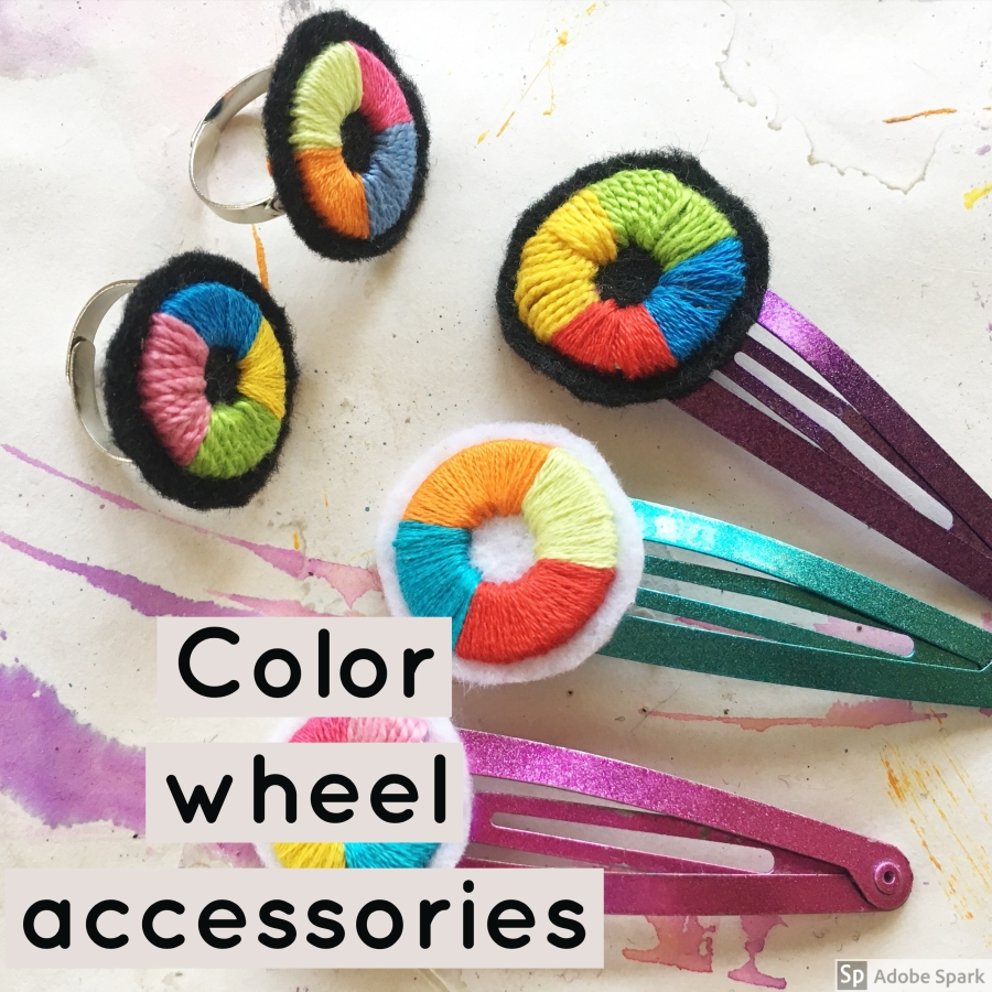 Color wheel crafts