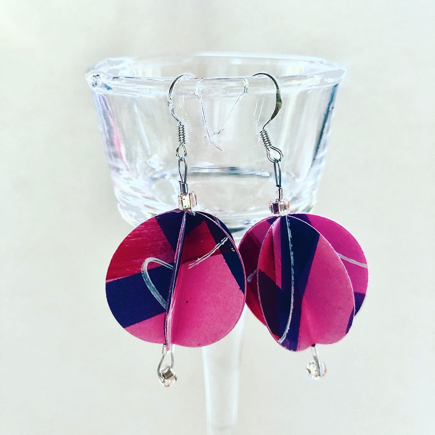 Paper earrings kit